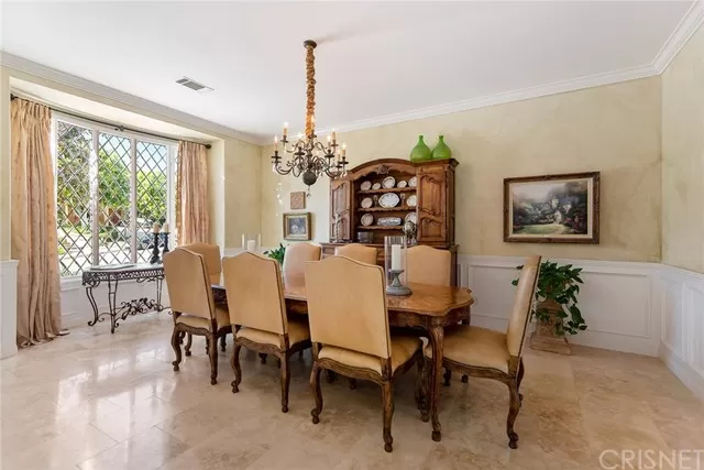Formal Dining Room 5374 Wellesley Dr Calabasas, CA 91302